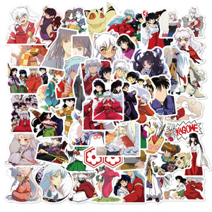 Inuyasha Invasion - 50 Quality Stickers To Paste Everywhere (Room, Laptop..)