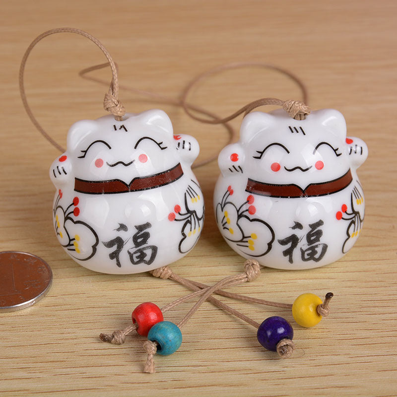 Maneki Neko (Lucky Cat) Wind Chime