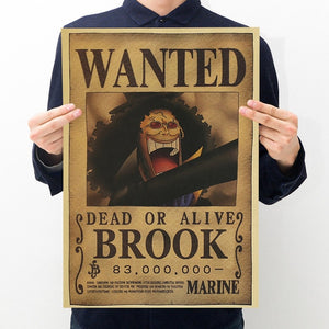 One Piece - Wanted Posters