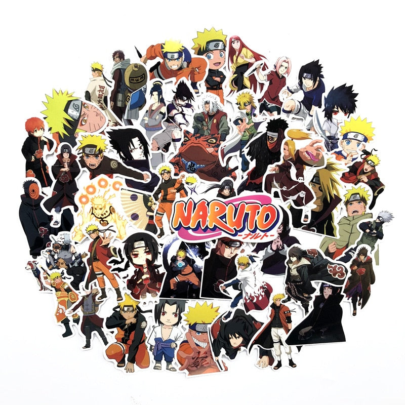 Naruto Stickers - Get These 63 Amazing Stickers From Your Favorite Anime
