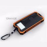 Solar Panel Led Lamp Light Phone Power Bank Universal Phone Charger