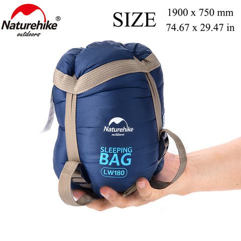 75 x 29.5'' Mini Outdoor Ultralight Envelope Sleeping Bag Ultra-small Size