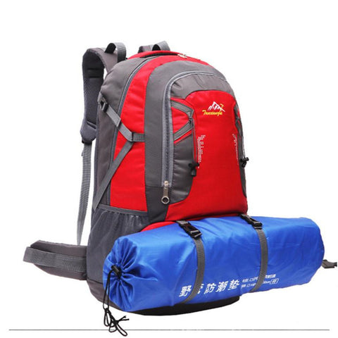Pro Outdoor Hiking Bag Camping Travel Waterproof Mountaineering Backpack  60L