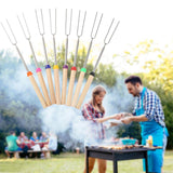 Outdoor Roasting Sticks Safe for Kids Extra Long Set