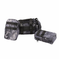 Tactical Military Backpack Pack Large Waterproof Bag 55L