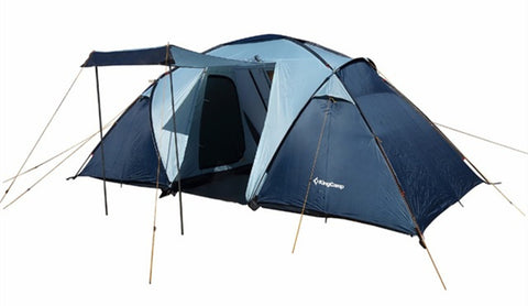 Camping Tent Waterproof Windproof Fire-resistant 4-Person,3-Season