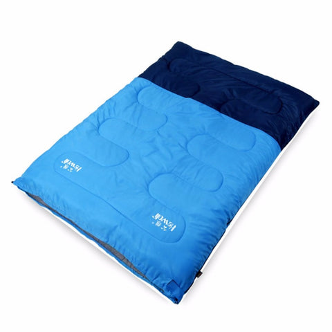 Hollow Cotton Filling Spring And Winter Warm Two-people Sleeping Bag
