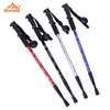 Image of 2 Trekking Trail Ultralight 4-section  Anti-Shock Poles