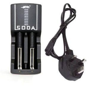 Soda Dual Multi-Functional Charger