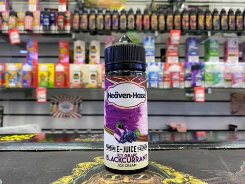 Heaven-Haze - Icy Grape Blackcurrant