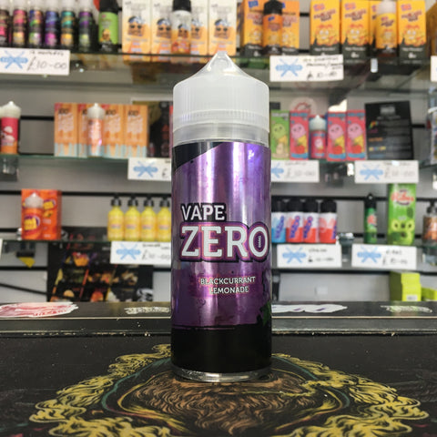 Vape Zero - Blackcurrant Lemonade