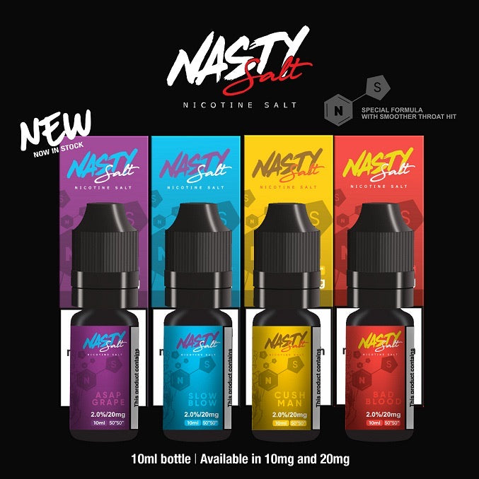 Nasty Nic Salt 10ml 10mg