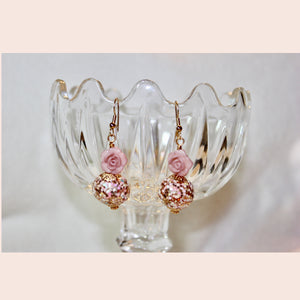 Glitz & Roses Earrings