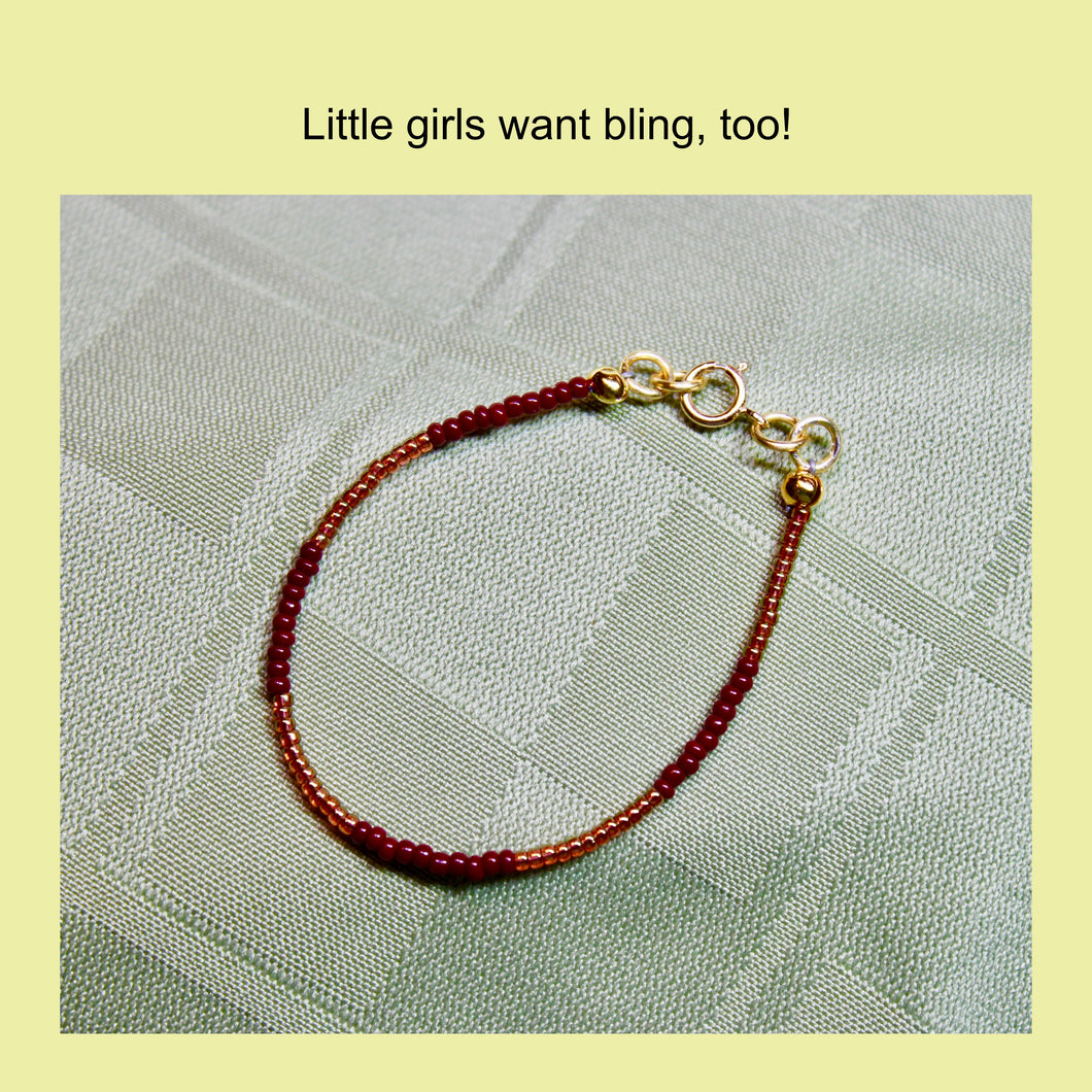 Toddler size - Team Spirit Bracelet