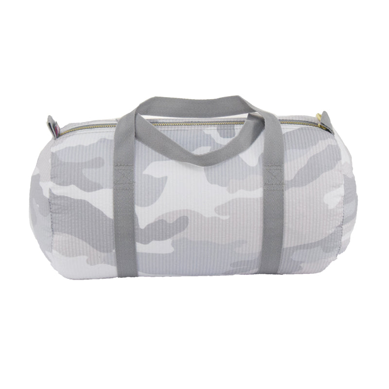 Small Duffle Bag - Grey Camo