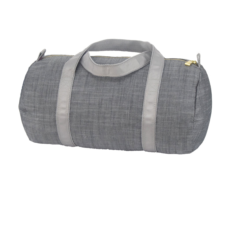 Small Duffle Bag - Grey Chambray