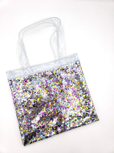Mini Sparkle Tote Bag