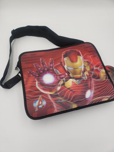 Marvel Holographic Messenger Bag