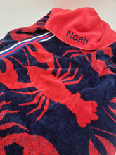 Load image into Gallery viewer, Hooded JUMBO Towel - Lobster