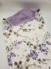Hooded Towel - Lilac Cherry Blossom