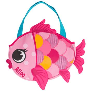 Beach Tote Bag - Fish