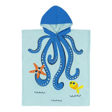 Load image into Gallery viewer, Swim Poncho - Octopus