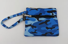 Load image into Gallery viewer, Mask Pouch - Blue Camo