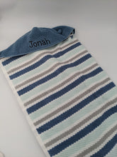 Load image into Gallery viewer, Hooded Towel - Calming Stripes