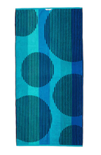 Hooded Towel - Aqua Bubbles