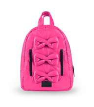 Load image into Gallery viewer, Puffer Mini Bows Knapsack