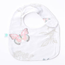 Load image into Gallery viewer, Butterflies Bib+Booties
