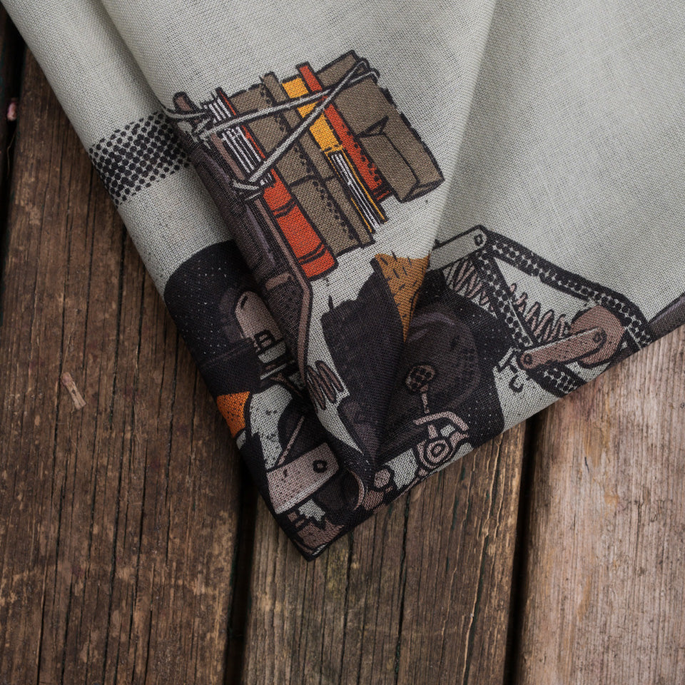Olof The Motorbiker Pocket Square