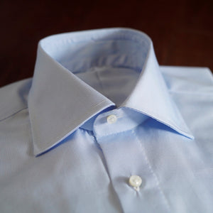 Sartoria Formosa Light Blue Microcheck Shirt