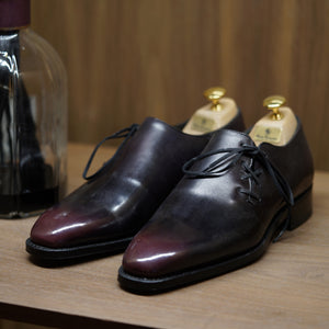 SPECIAL - Norman Vilalta Monopetzzo in Burgundy Patina Box Calf
