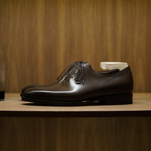 Zonkey Boot Wholecut Oxfords in Perique Bavarian Crust Calf