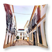 Spanish Streets Of Cordoba - Throw Pillow