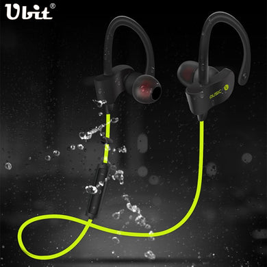 Ubit 56S Wireless Bluetooth Earphone Sports Sweat proof Stereo Earbuds Headset In-Ear Earphones with Mic