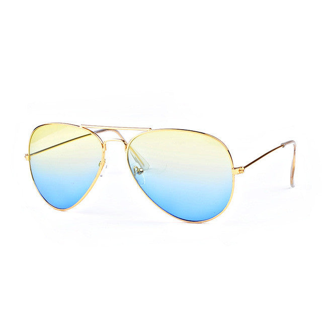ROYAL GIRL Brand Designer Women Sunglasses Pilot Sun glasses Sea gradient shades Men Fashion glasses - Happysale24