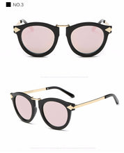 ROYAL GIRL Summer fashion Brand Designer Vintage Trend Sunglasses Round Retro Sun Glasses lady chic shades - Happysale24