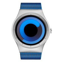 SINOBI Creative Rotation Men Watches Stainless Steel Mesh Strap Quartz Sport Watch Men Fashion - Happysale24
