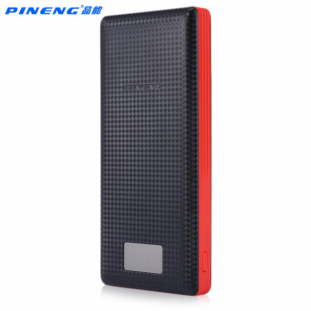 Pineng Power Bank 20000mAh PN-969 External Battery Pack Powerbank 5V 2.1A Dual USB Output for Android Phones Tablets