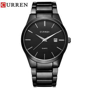 CURREN Luxury Brand  Analog sports Wristwatch  Display Date Men's Quartz Watch Business Watch Men Watch