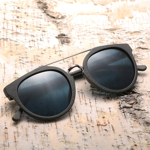 Vintage Acetate Wood Sunglasses For Men/Women High Quality Polarized Lens UV400 - Happysale24