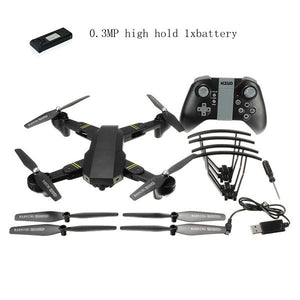 Eachine VISUO XS809HW WIFI FPV With Wide Angle HD Camera High Hold Mode Foldable Arm RC Quadcopter RTF RC Helicopter Toys - Happysale24