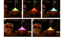 Air Humidifier Essential Oil Diffuser Diffuseur Huile Essentiel 7-Colors-LED Sleep Light Humidificador Ultrasonico - Happysale24
