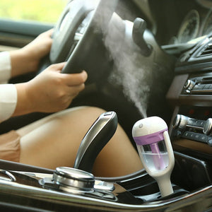 MD-Nanum Car charger Humidifier Mini Air Purifier Aroma Diffuser Auto Air Freshener Aromatherapy Mist Maker - Happysale24