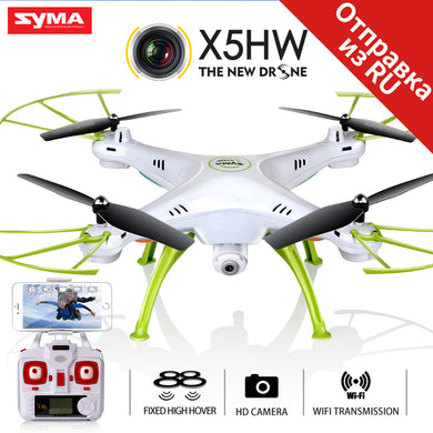 SYMA X5HW Drone With Camera HD Wifi FPV Selfie Drone Drones Quadrocopter RC Helicopter Quadcopter RC Dron Toy