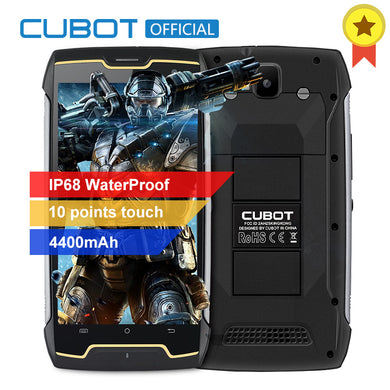 Cubot KingKong IP68 Waterproof Smartphone Dustproof Shockproof Cellular MT6580 Quad Core 5.0 Inch HD 2GB 16GB 4400mAh