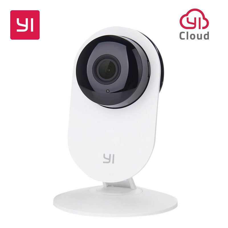 YI Home Camera 720P HD Video Monitor IP Wireless Network Surveillance Security Night Vision Alert Motion Detection EU/US Version - Happysale24