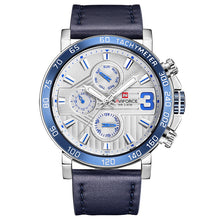 NAVIFORCE Watches Fashion Leather Quartz Date Clock Casual Sports Wrist Watch - Happysale24